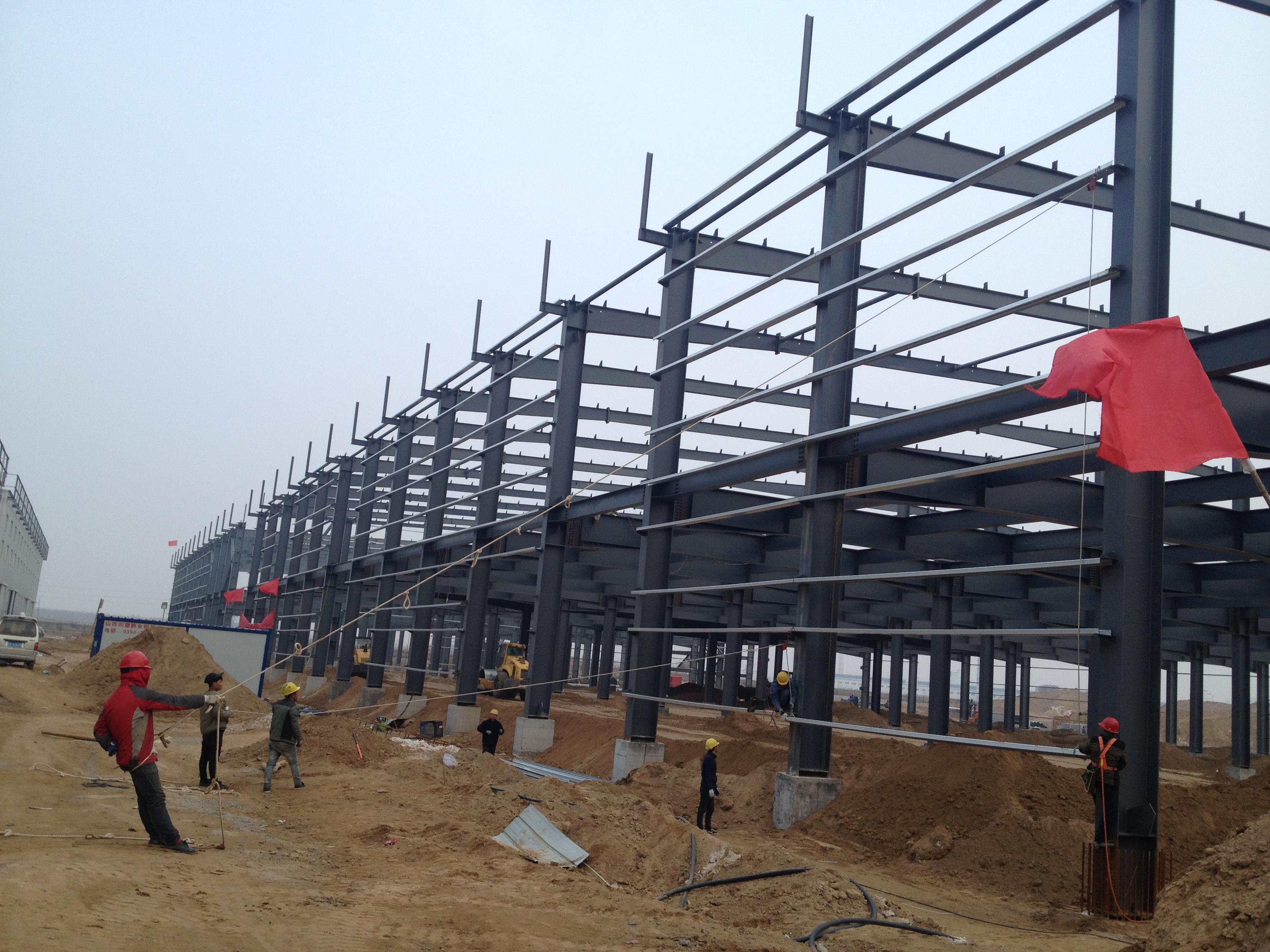 钢结构厂房的经济跨度和柱间距